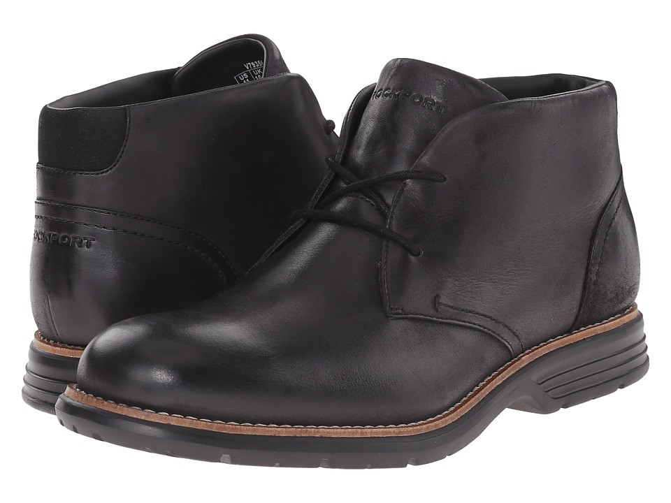 Rockport Total Motion Fusion Desert Boot (Black) Men