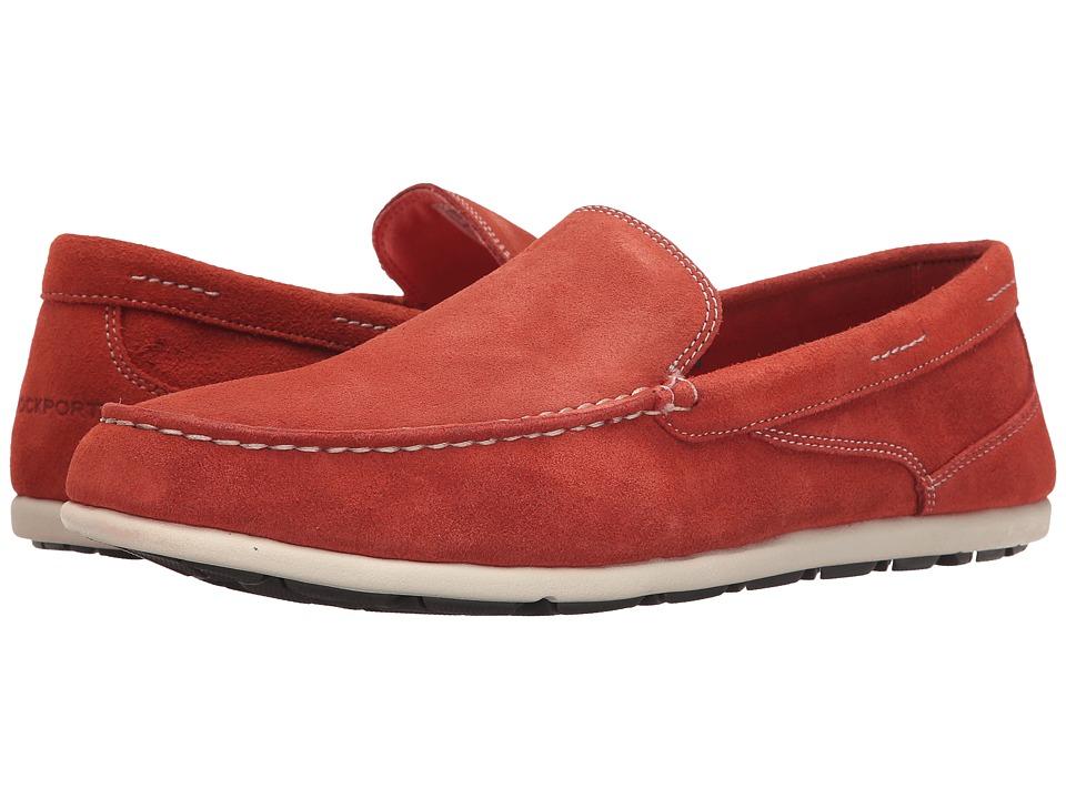 Rockport Bennett Lane 3 Cape Noble 3 Venetian Burnt Sienna Mens Slip on Shoes