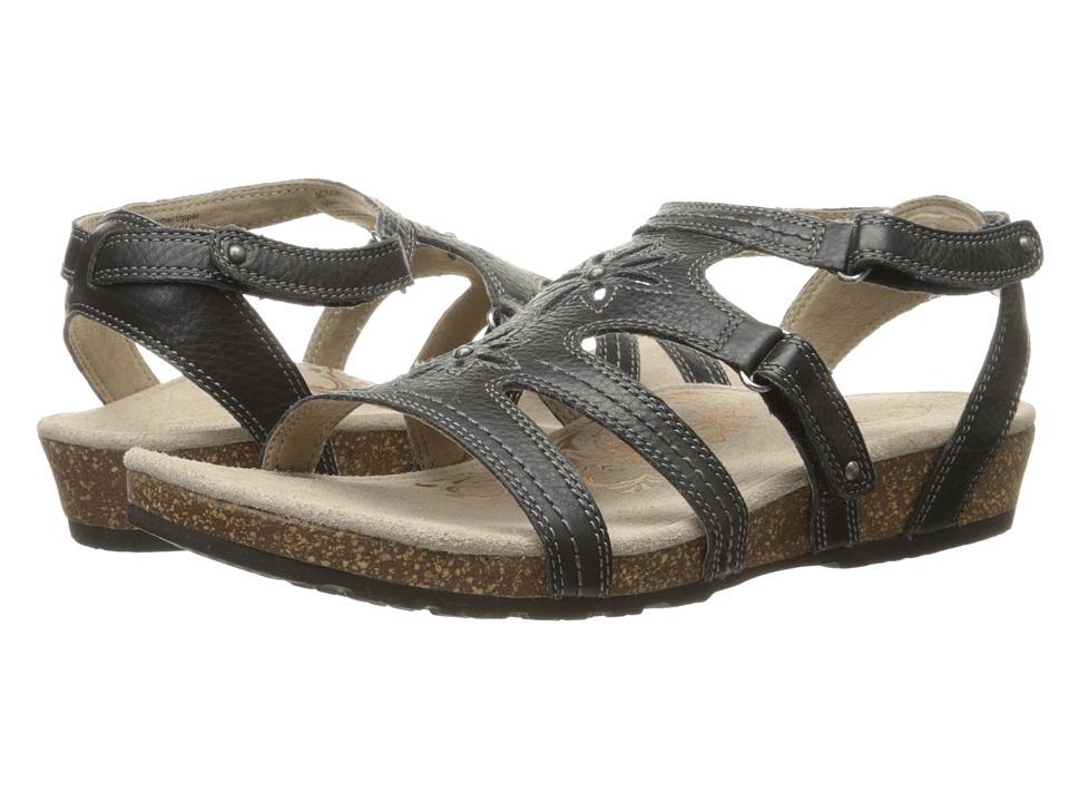 Aetrex Natasha Black Womens Sandals