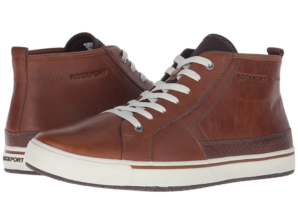 Rockport Path to Greatness Chukka Tan Mens Lace up Boots