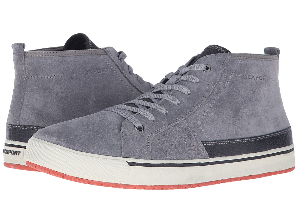 Rockport Path to Greatness Chukka Grey Mens Lace up Boots