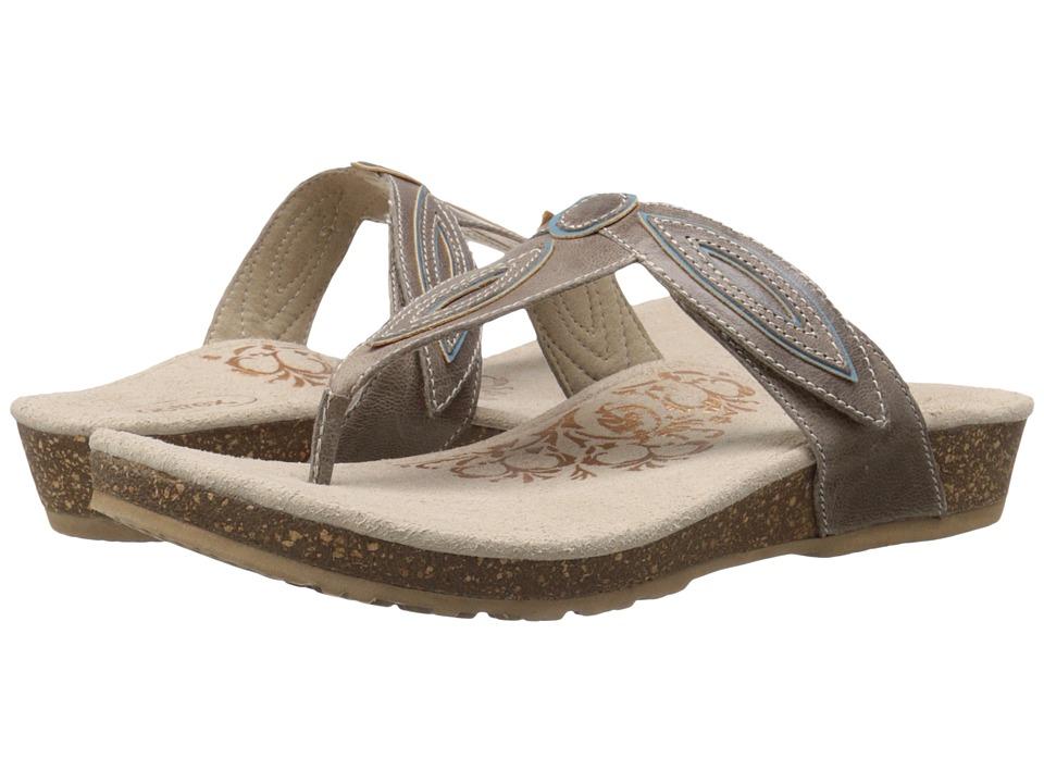 Aetrex Terri Stone Womens Sandals