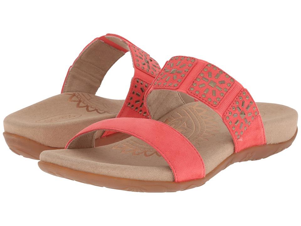Aetrex Macy Flamingo Womens Sandals