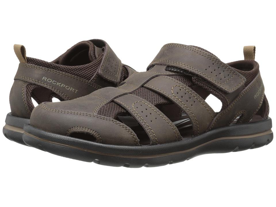 Rockport - Get Your Kicks Sandals Fisherman II (Coffee) Men