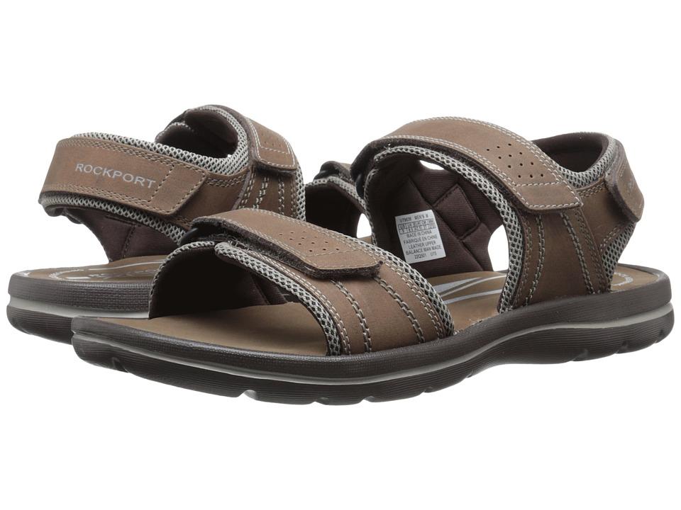 Rockport - Get Your Kicks Sandals QTR Strap (Tan/Sand) Men