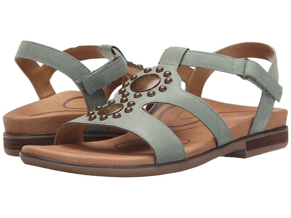 Aetrex Vivian Mint Womens Sandals