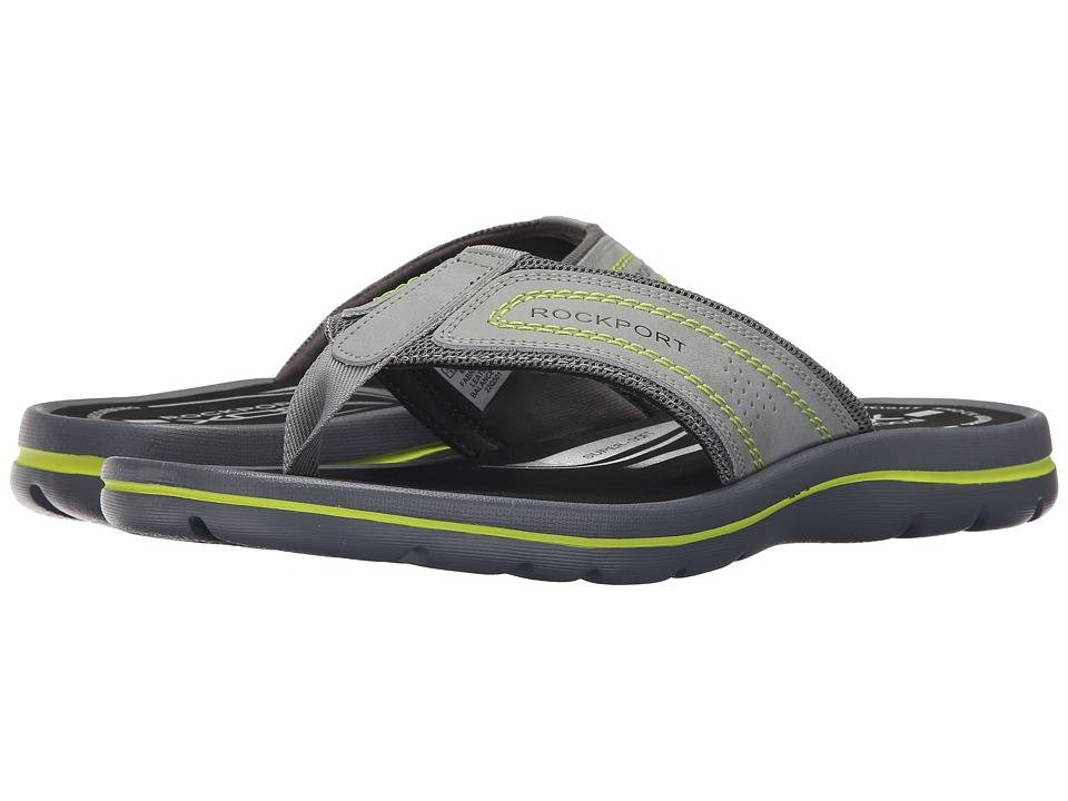 Rockport Get Your Kicks Sandals Thong Grey/Griffin Mens Sandals