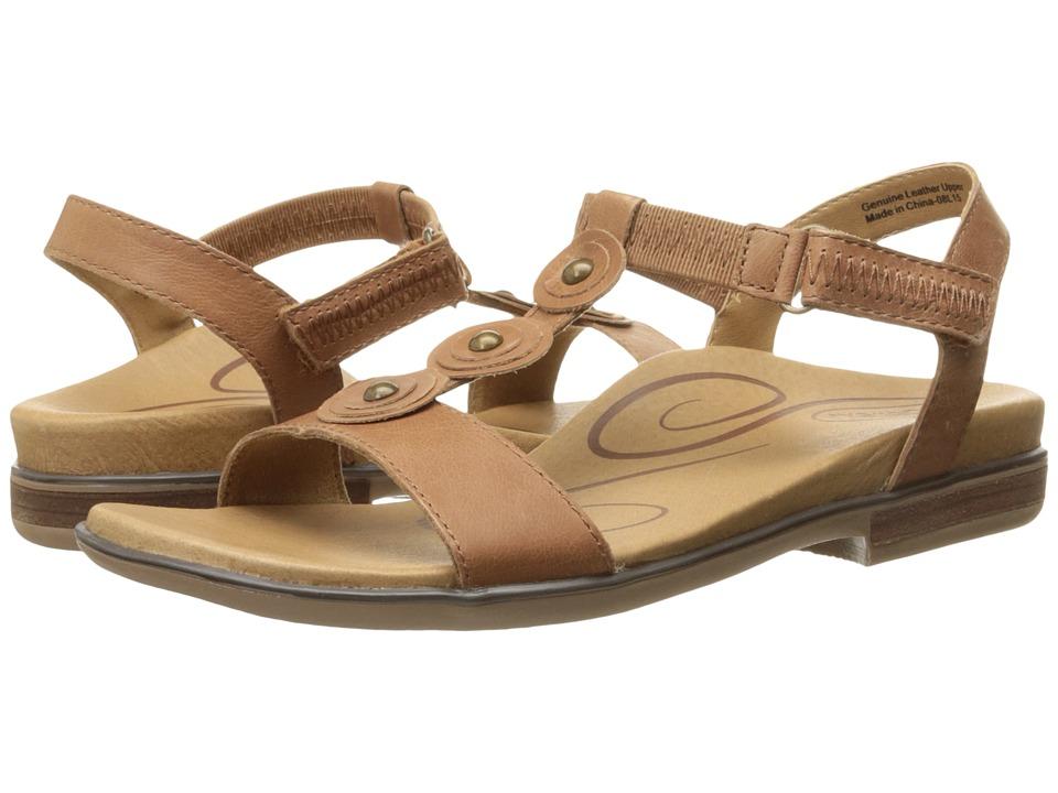 Aetrex Sharon Cognac Womens Sandals