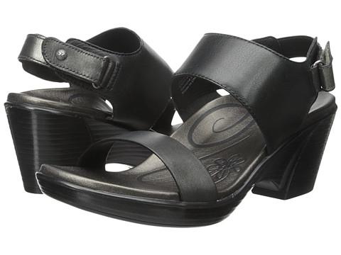 Aetrex Peyton Wedge Sandal - Black