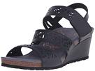 Aetrex - Lexi Wedge Sandal (Black)