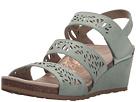 Aetrex - Lexi Wedge Sandal (Mint)