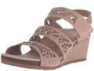 Aetrex - Lexi Wedge Sandal (Tan)