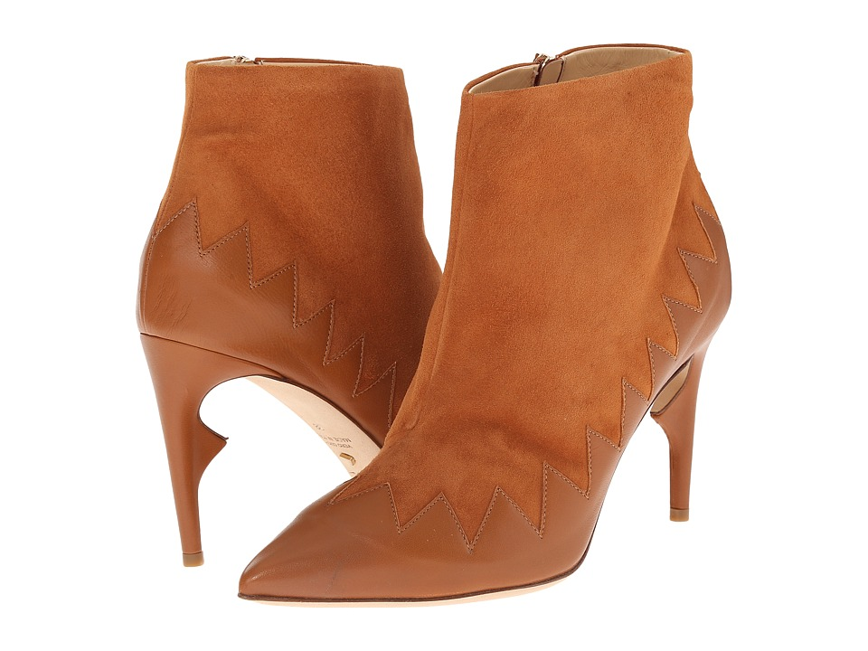 Jerome C. Rousseau Jabs Tan Womens Shoes