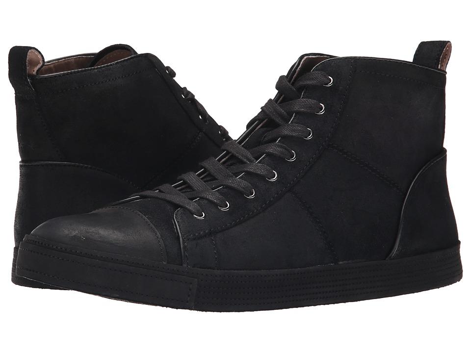 John Varvatos - Mick Sneaker HI (Black) Men