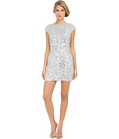 Adrianna Papell - Sequin Chem Lace Shift Dress