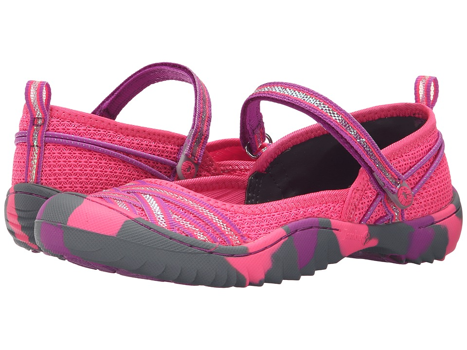 Jambu Kids Fia 4 Toddler/Little Kid/Big Kid Pink/Purple Girls Shoes