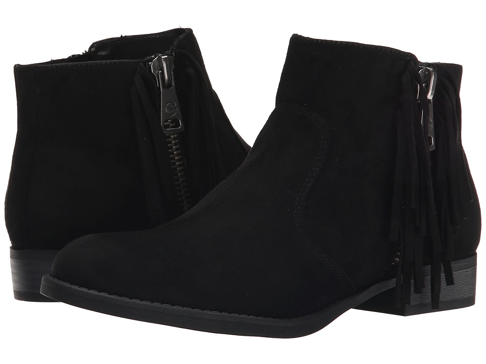 G by GUESS Ggiggy Black Fabric Womens Boots
