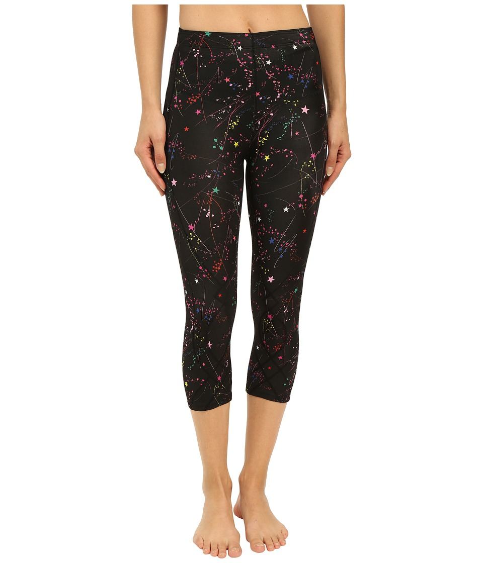 CW X 3/4 Stabilyx Print Constellation Print Womens Workout