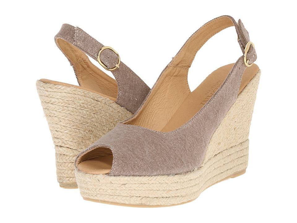Cordani Elixir Spice Linen Womens Wedge Shoes