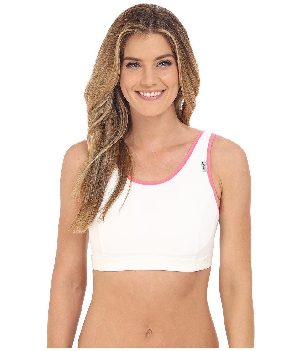 CW X Stabilyx Running Bra White/Soft Pink Womens Bra