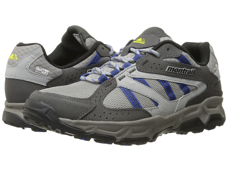 Montrail Sierravada Outdry Columbia Grey/Azul Mens Shoes