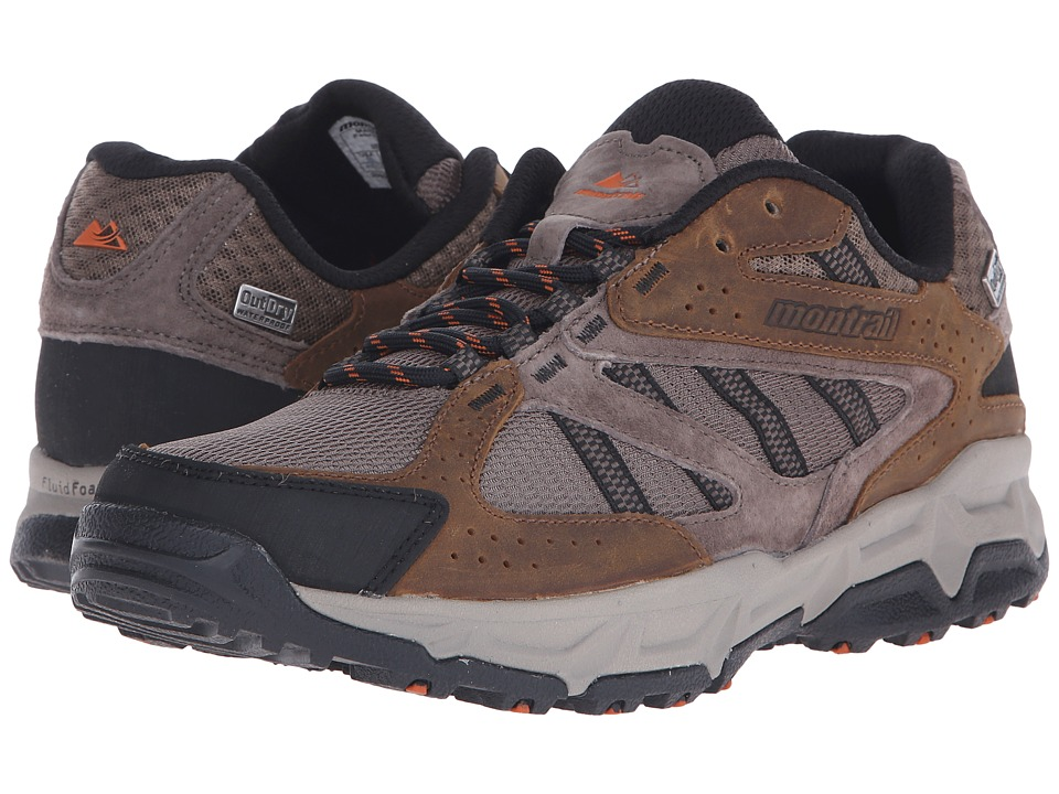 Montrail Sierravada Leather Outdry Mud/Desert Sun Mens Shoes