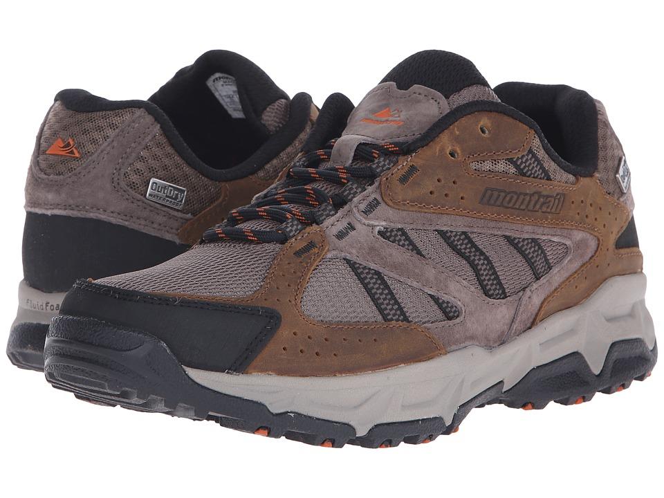 Montrail Sierravada Leather Outdry Mud/Desert Sun Mens Shoes