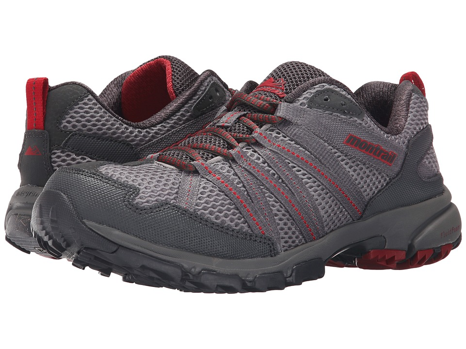 Montrail - Mountain Masochist III (Light Grey/Rocket) Men