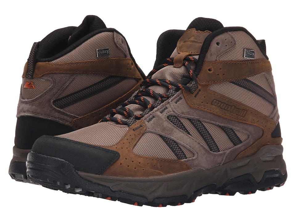 Montrail Sierravada Mid Leather Outdry Wet Sand/Desert Sun Mens Shoes