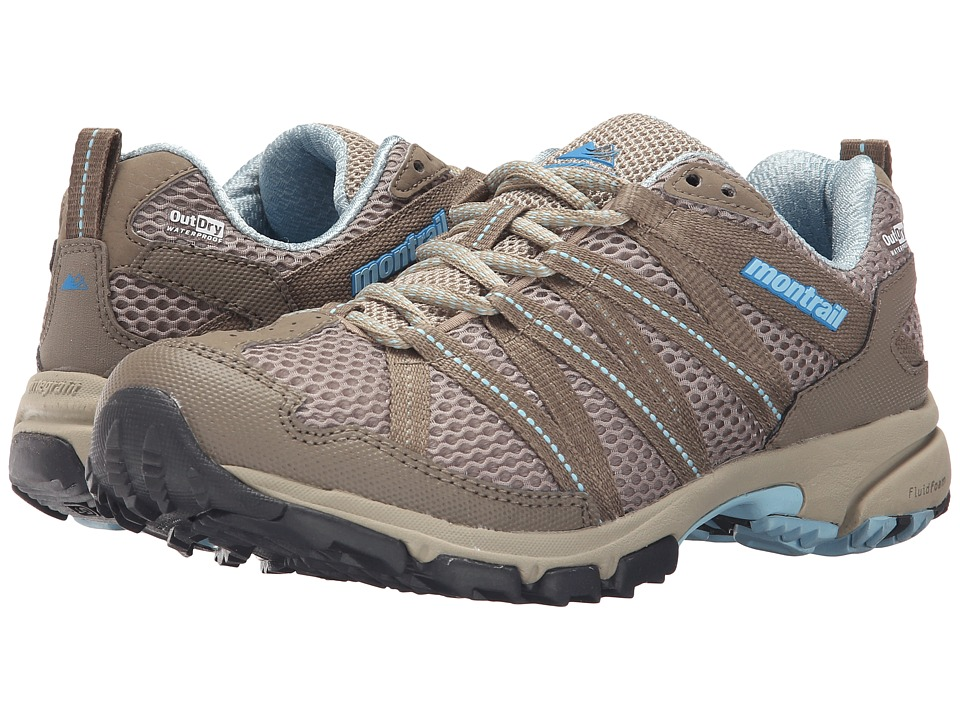 Montrail Mountain Masochist III Outdry Silver Sage/Sky Blue Womens Shoes