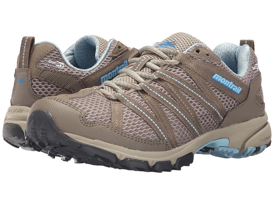 Montrail Mountain Masochist III Outdry Silver Sage/Sky Blue Womens Shoes