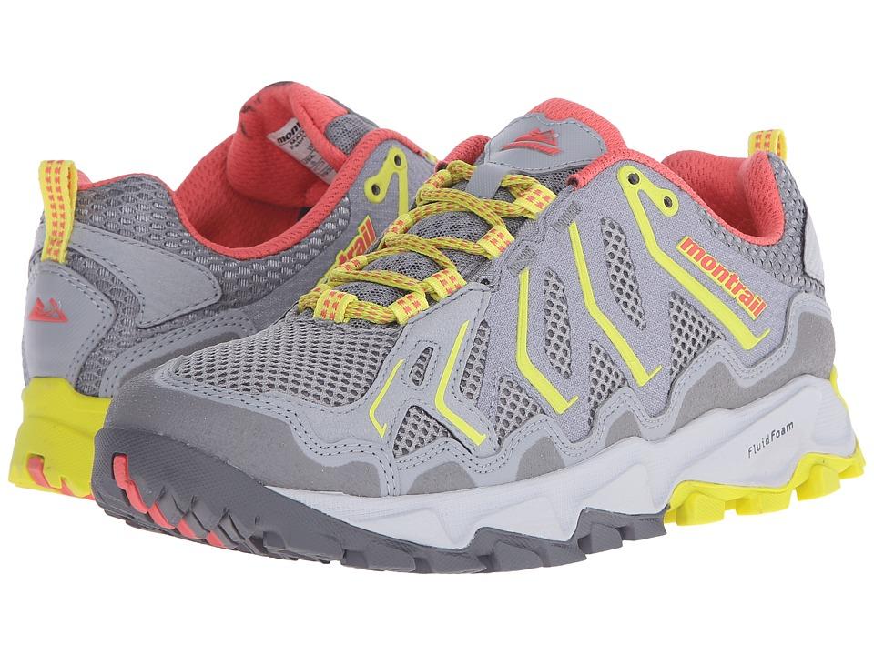 Montrail Trans Alps Light Grey/Wild Melon Womens Shoes