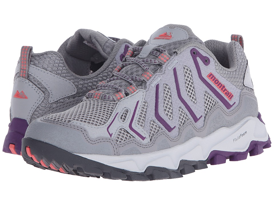 Montrail Trans Alps Light Grey/Glory Womens Shoes