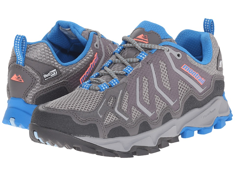 Montrail Trans Alps Outdry City Grey/Static Blue Womens Shoes