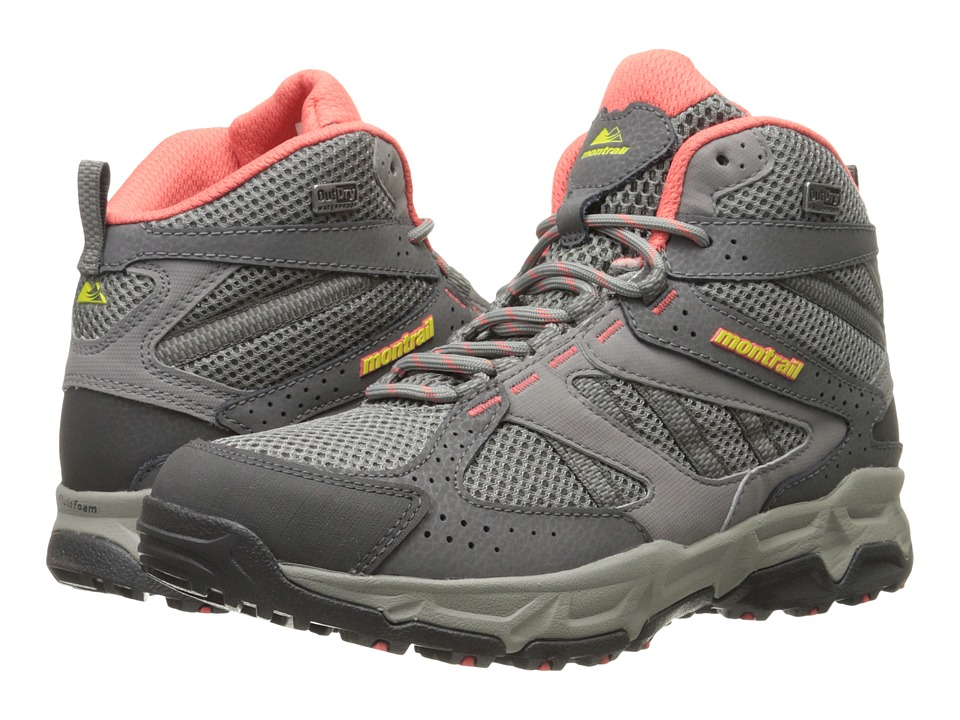 Montrail Sierravada Mid Outdry (Light Grey/Zour) Women