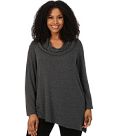 NYDJ Plus Size - Plus Size Constance Cozy Long Sleeve Cowl Neck