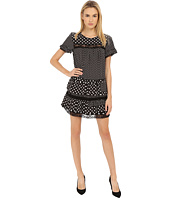 Marc by Marc Jacobs - Viscose Polka Dot - Small Tee Dress