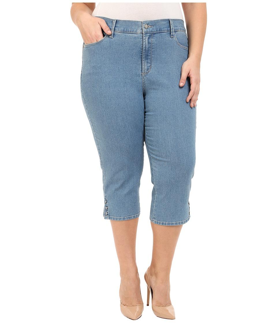 NYDJ Plus Size Plus Size Ariel Crop in Milwaukee Milwaukee Womens Jeans