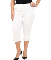 NYDJ Plus Size - Plus Size Ariel Crop in Optic White