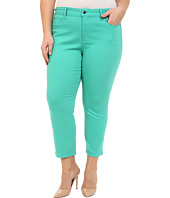 NYDJ Plus Size - Plus Size Ira Slim Ankle in Jade Mint
