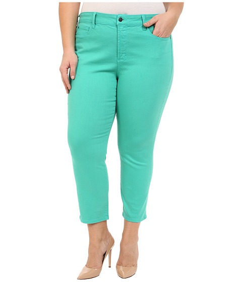 NYDJ Plus Size Plus Size Ira Slim Ankle in Jade Mint