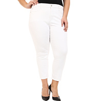 NYDJ Plus Size - Plus Size Ira Slim Ankle in Optic White