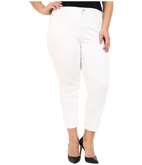 NYDJ Plus Size Plus Size Ira Slim Ankle in Optic White