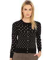 Marc by Marc Jacobs - Polka Dot Jacquard Cardigan