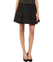 Marc by Marc Jacobs - Solid Poly Faille Gathered Skirt