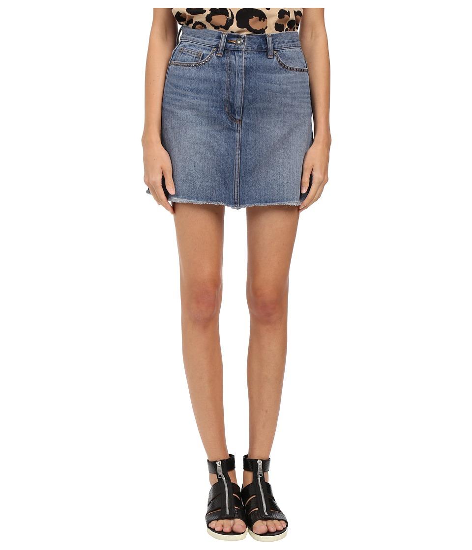 Marc by Marc Jacobs Indigo Cotton Denim Kuroki Kex77 Mini Skirt Authentic Blue Womens Skirt