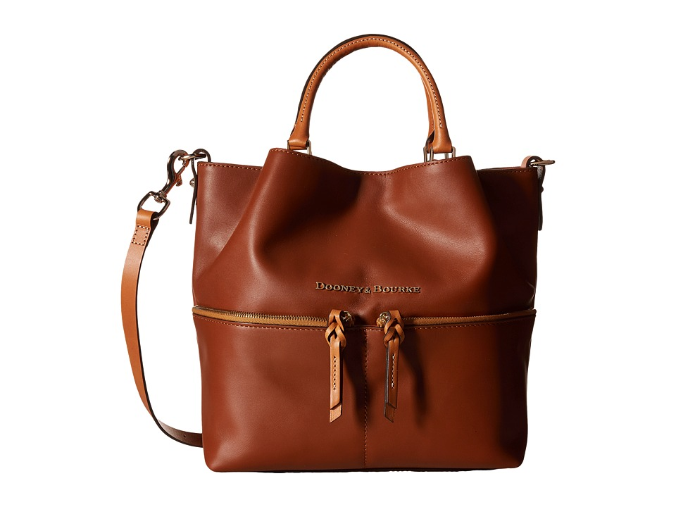 Dooney & Bourke - City Dawson (Natural/Natural Trim) Satchel Handbags