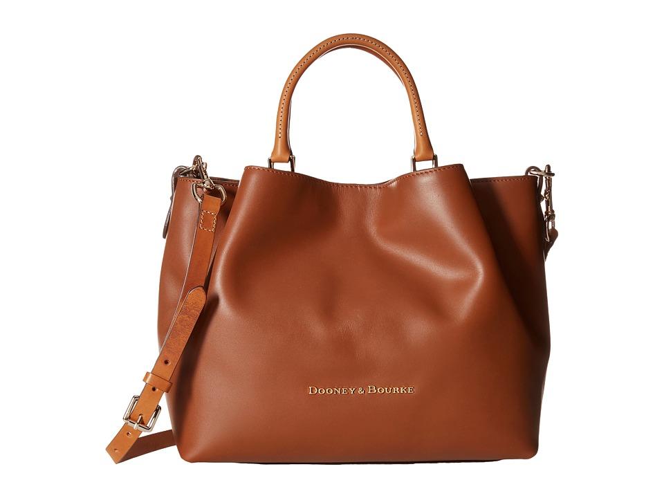 Dooney & Bourke - City Large Barlow (Natural / Natural Trim) Satchel Handbags