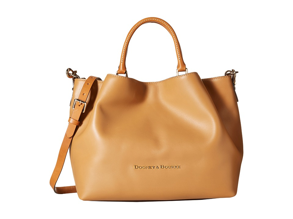 Dooney & Bourke - City Large Barlow (Desert/Natural Trim) Satchel Handbags