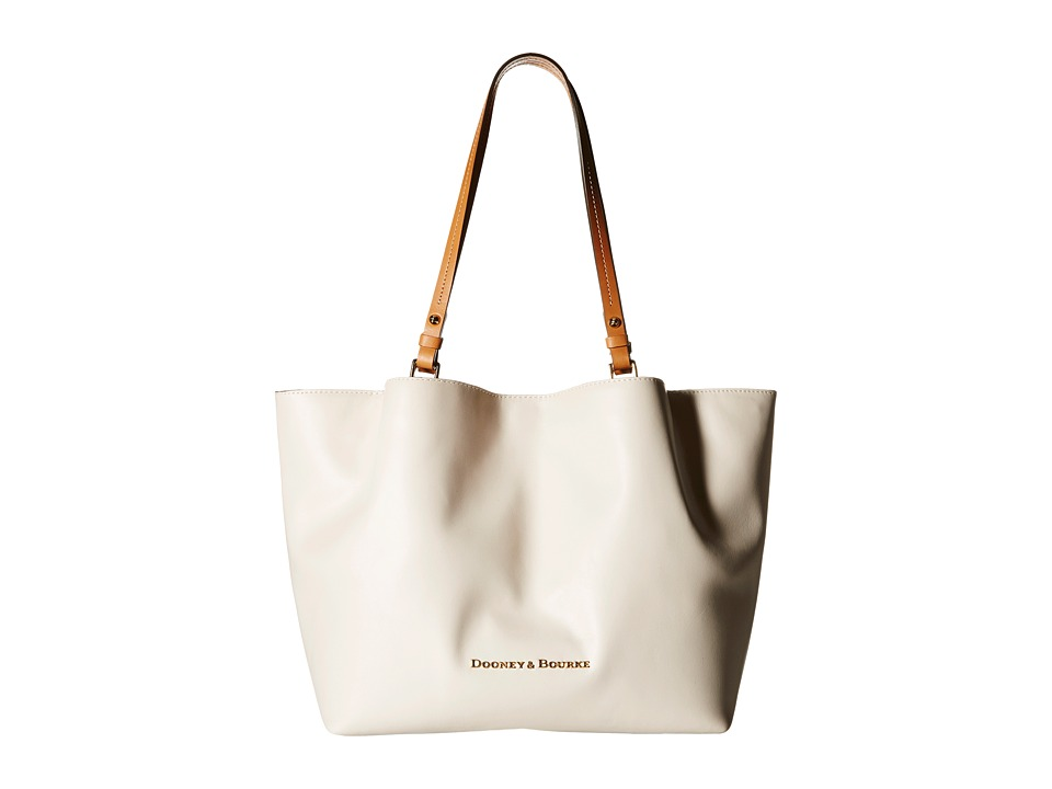 Dooney & Bourke - City Flynn (Bone/Natural Trim) Tote Handbags
